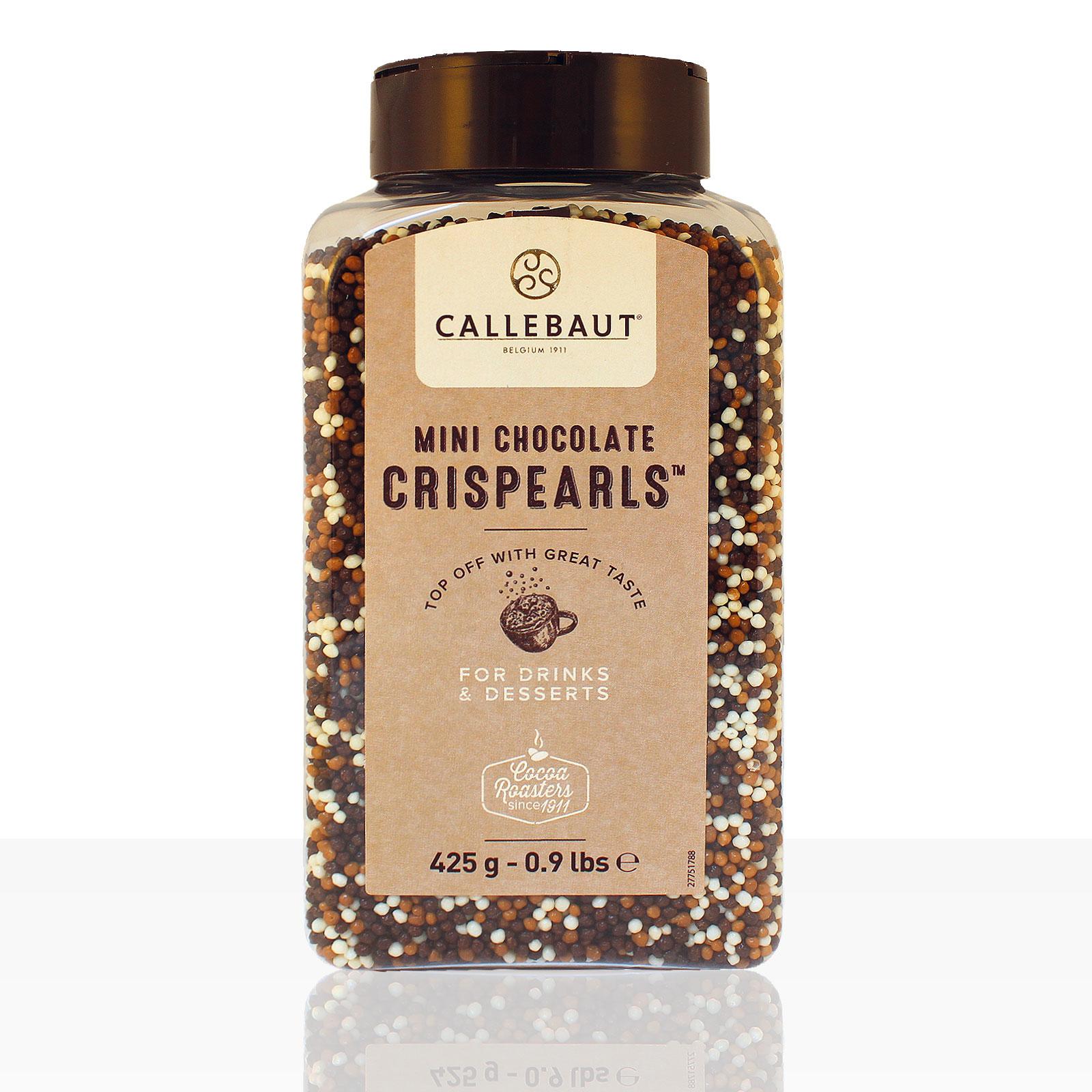Callebaut Mini Chocolate Crispearls Schokokügelchen 425g