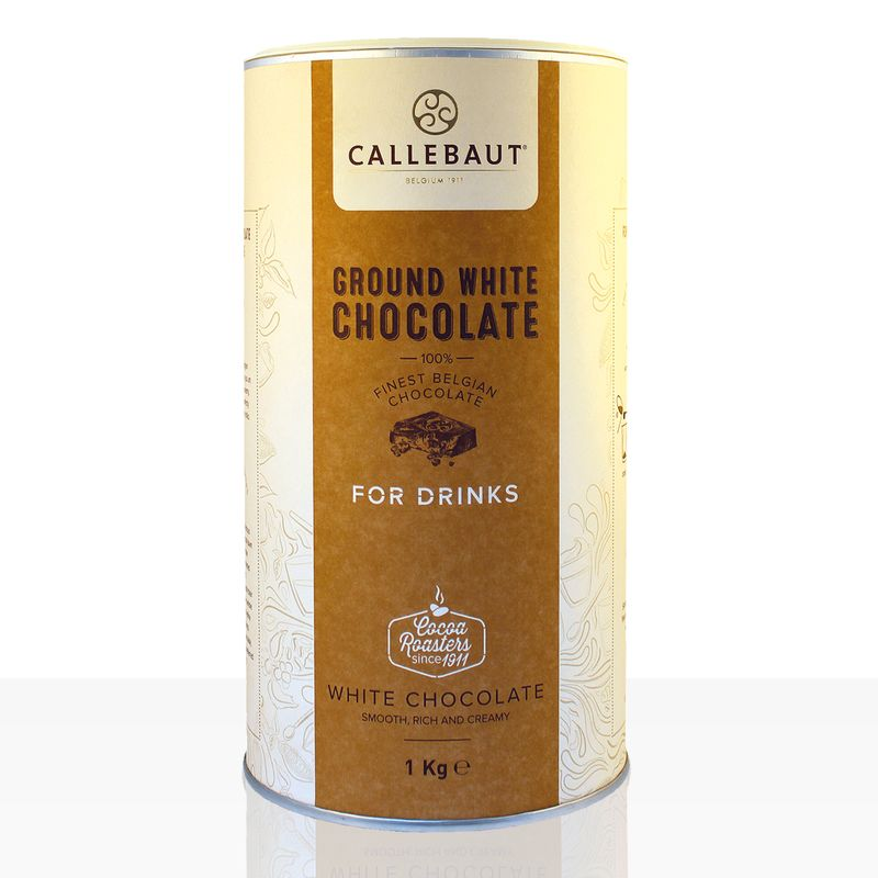 Callebaut Ground White Chocolate 1kg weiße Instantschokolade