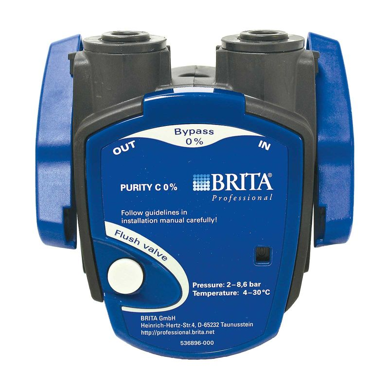 Brita Purity C Filterkopf 0%, Anschlüsse für John Guest 8 mm