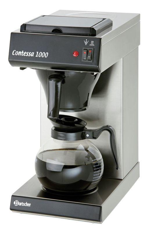 Bartscher Contessa 1000 Kaffeemaschine inkl. Glaskanne 1,8l