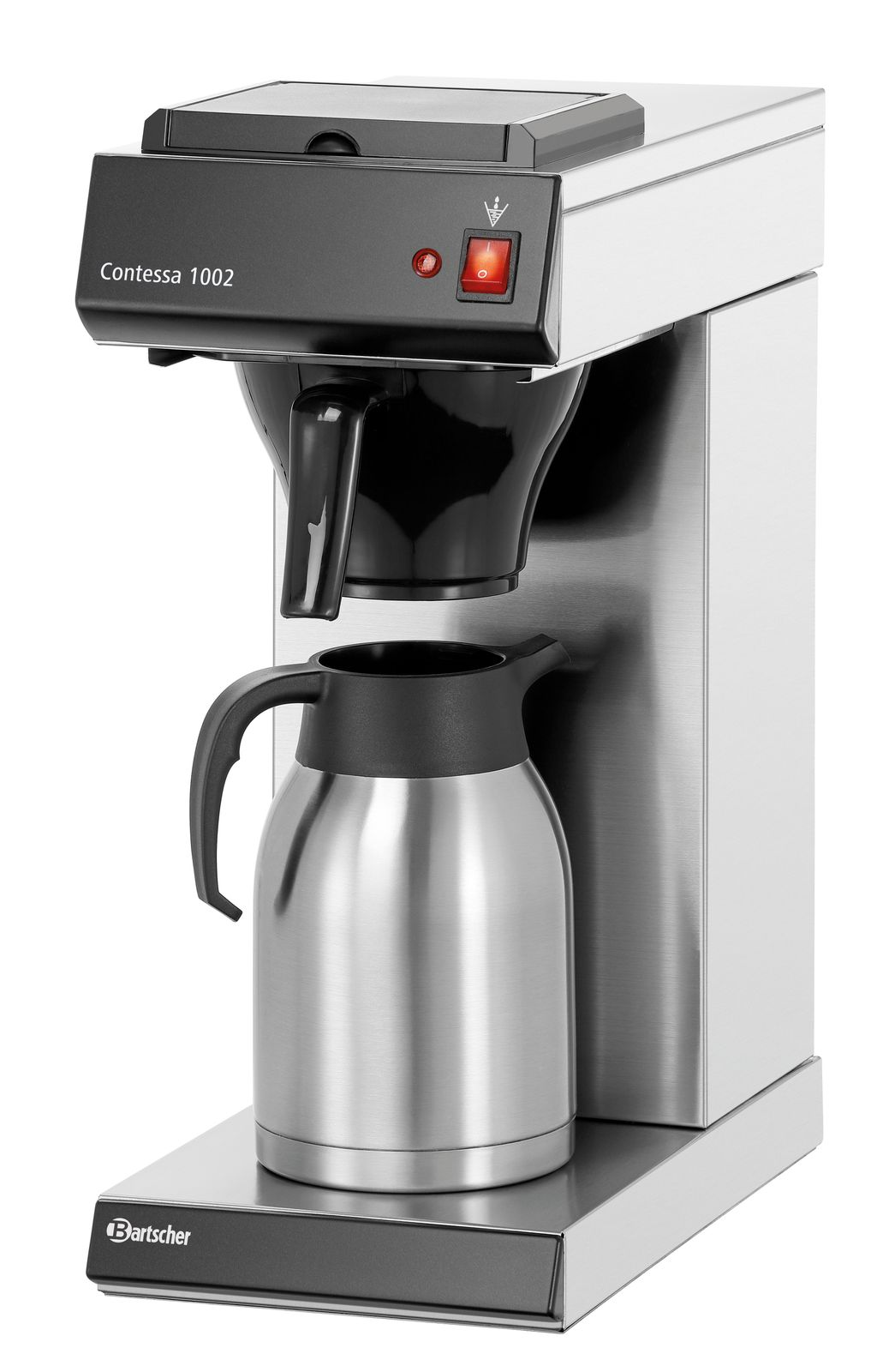 Bartscher Contessa 1002 Kaffeemaschine inkl. Isolierkanne 2l