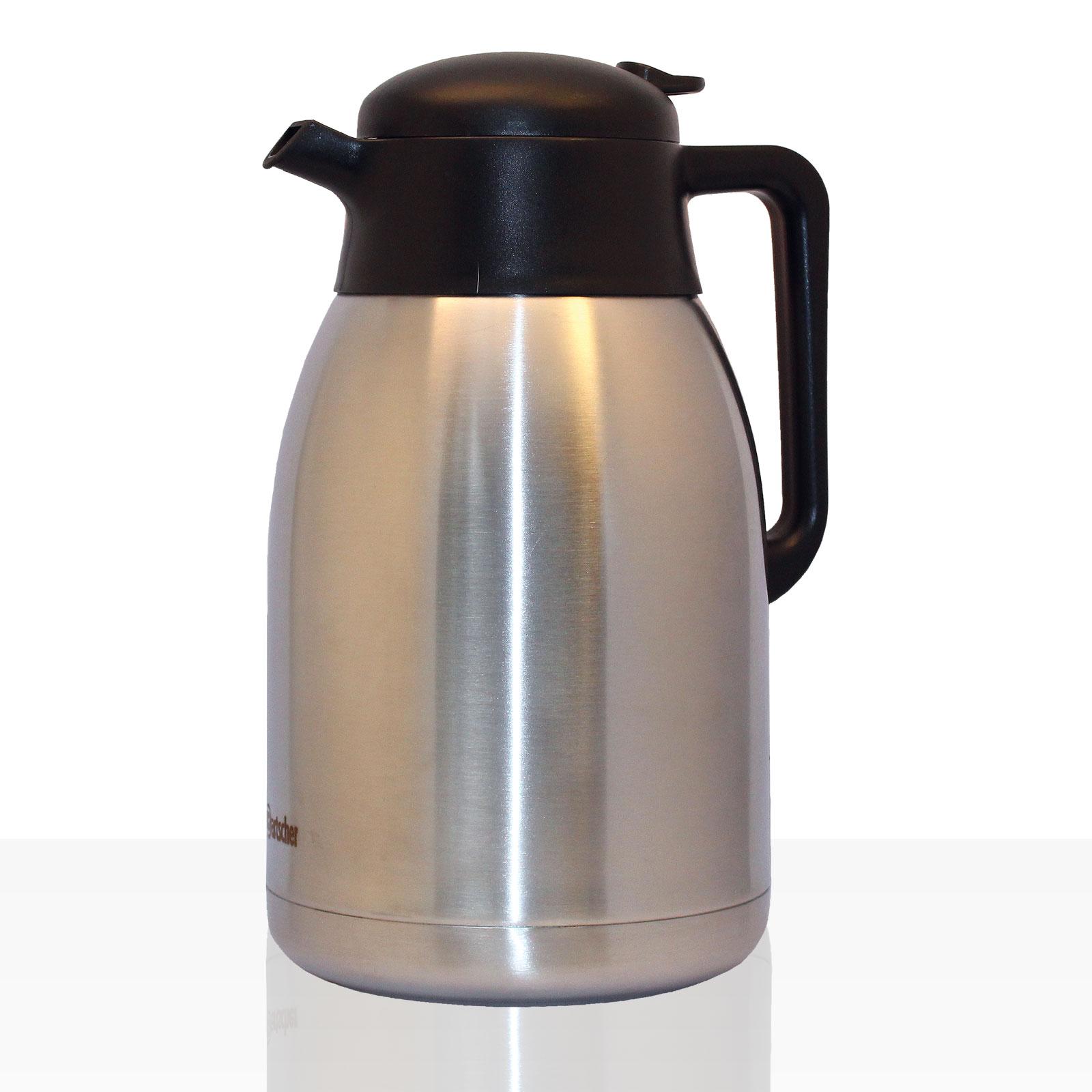 Bartscher Isolierkanne Edelstahl 2l, Kaffee-Kanne für zb Contessa 1002, Duo