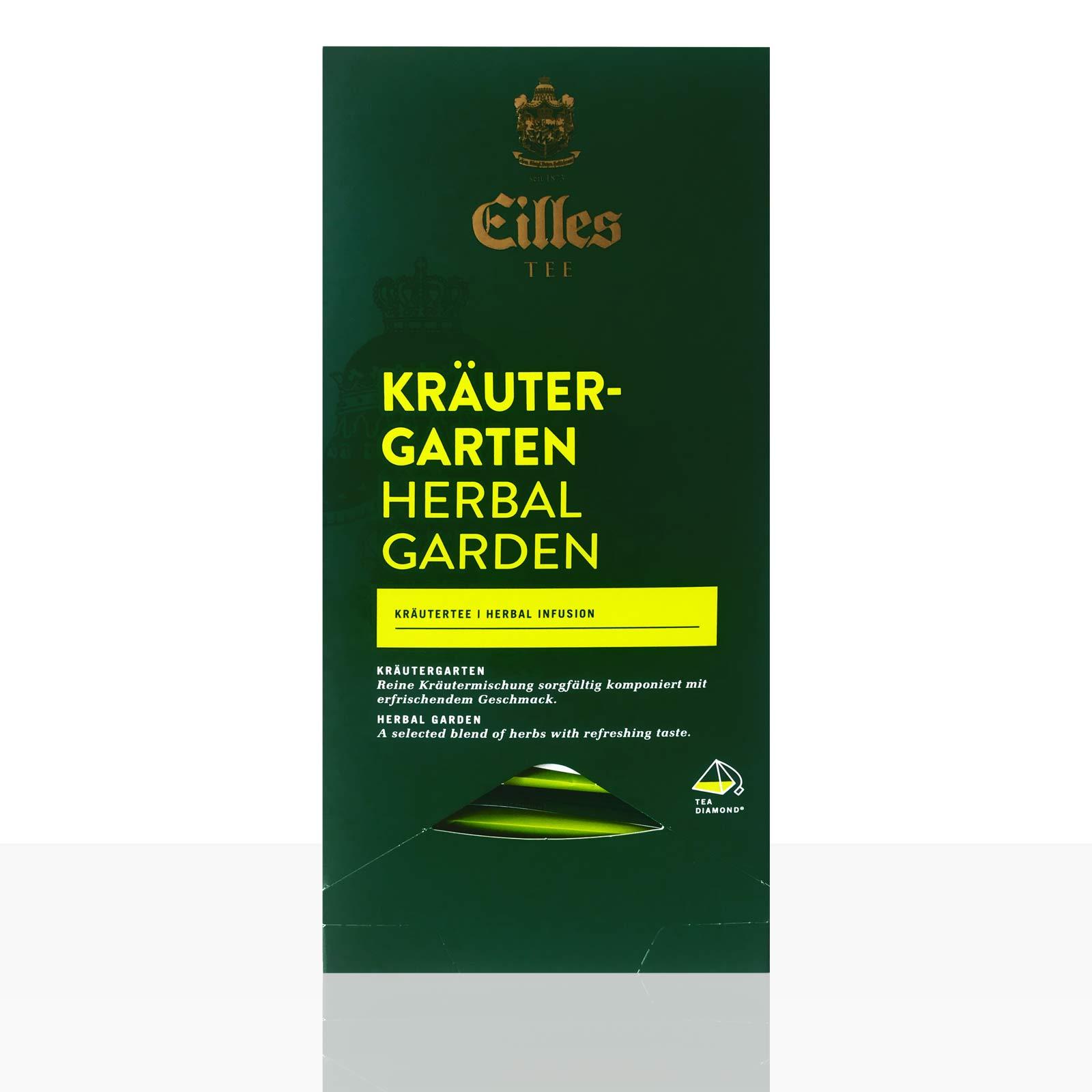 EILLES World Luxury Selection Kräutergarten 20 x 2,5g, einzeln kuvertierter Kräuter-Tee