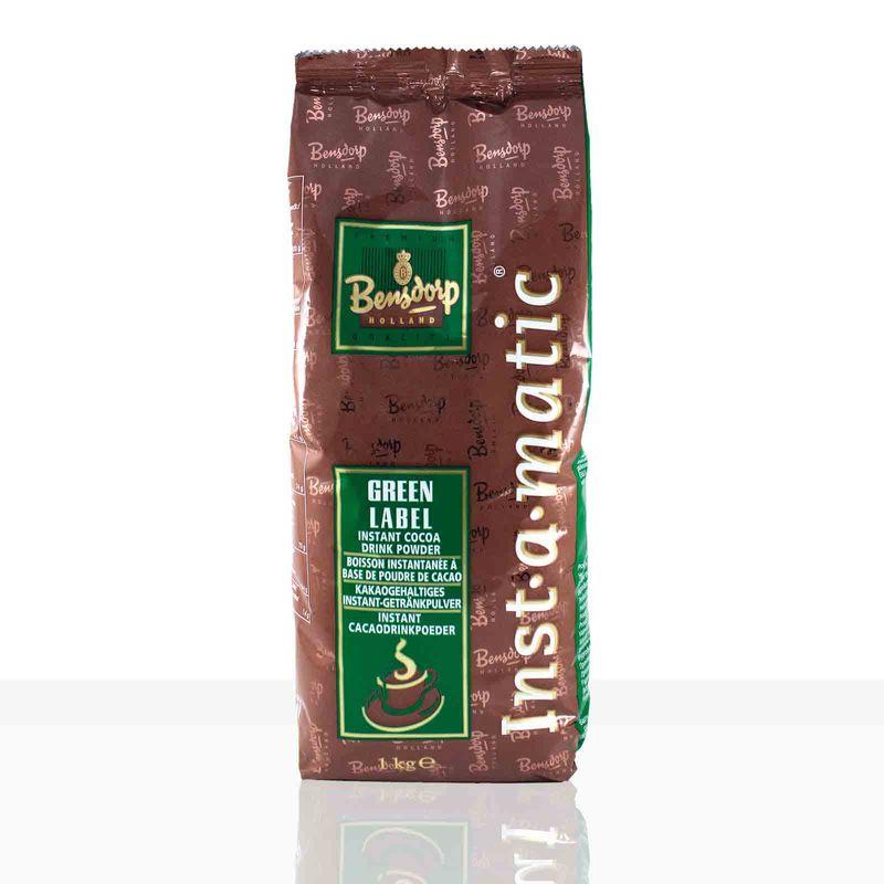 Bensdorp Green Label Cacaomix Kakao 1kg, Kakaopulver 14,5%