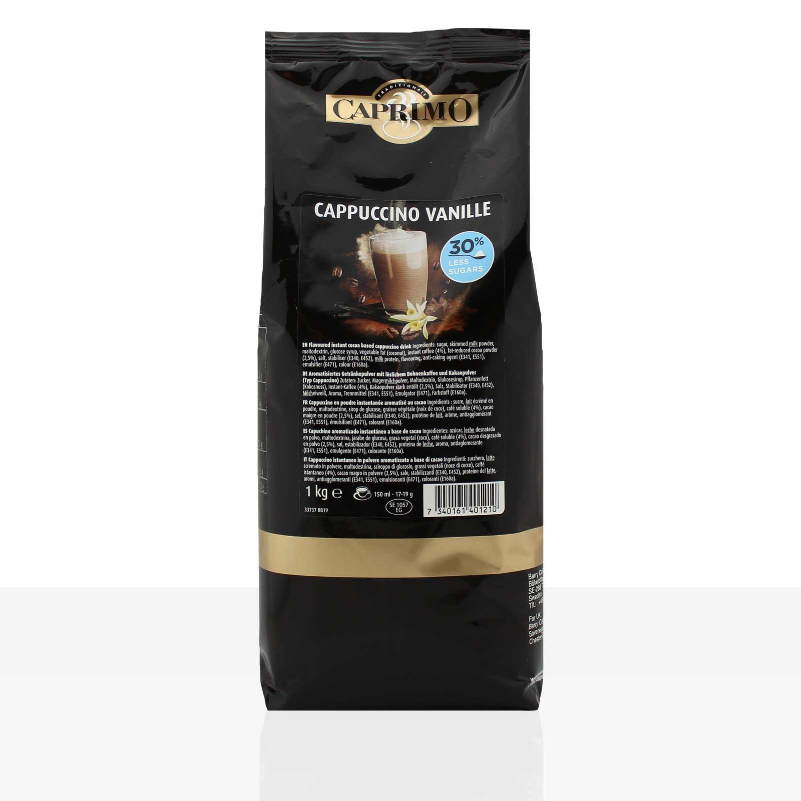 Caprimo Cappuccino Cafe Vanille 1Kg