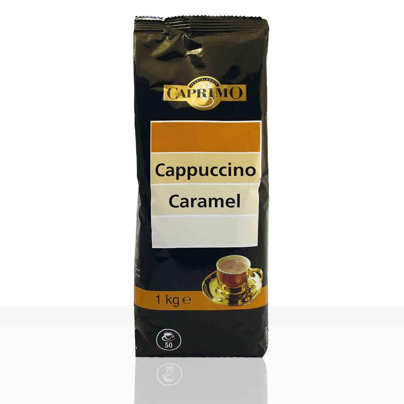 Caprimo Cappuccino Caramel 10 x 1kg Instant