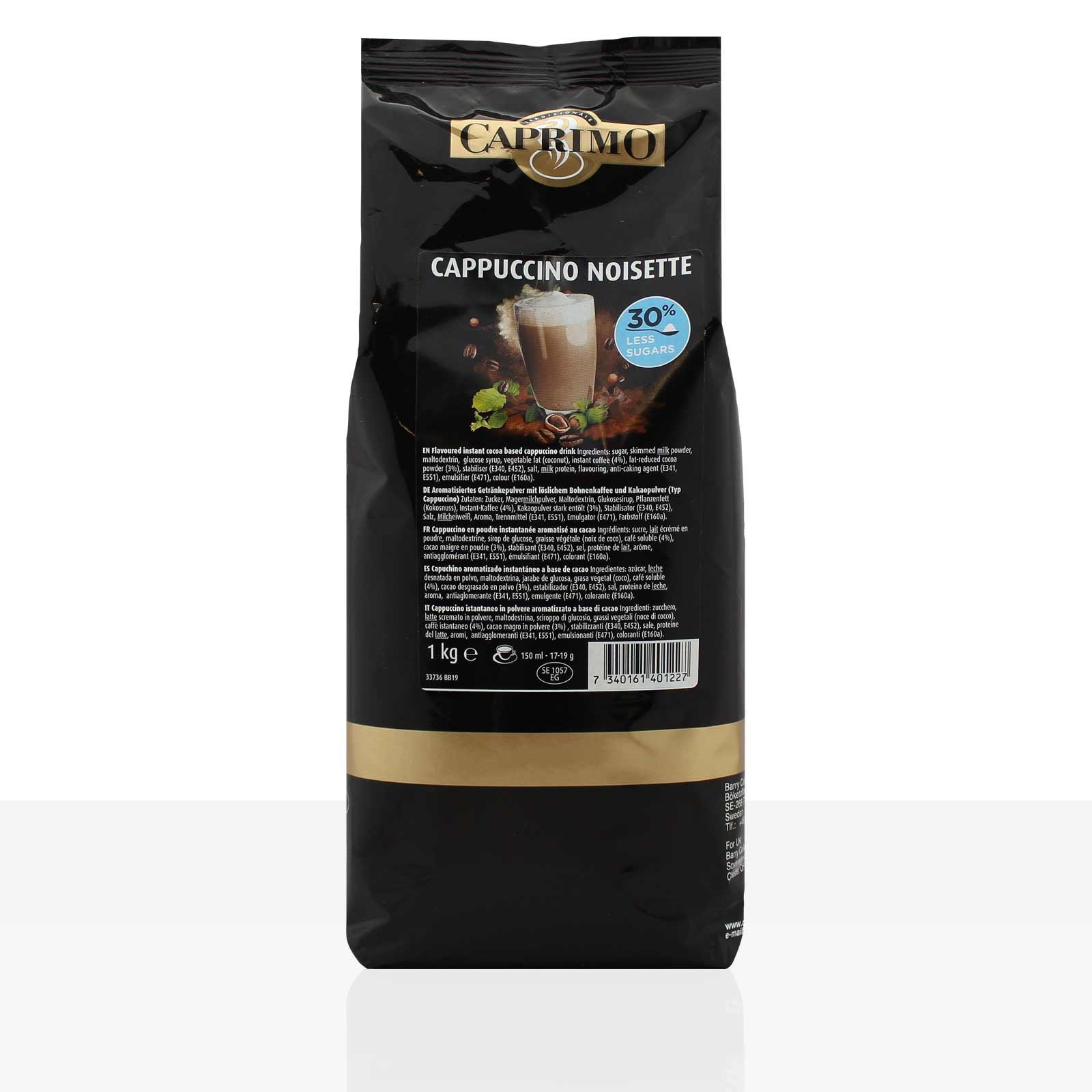 Caprimo Cappuccino Cafe Noisette 1kg Instant