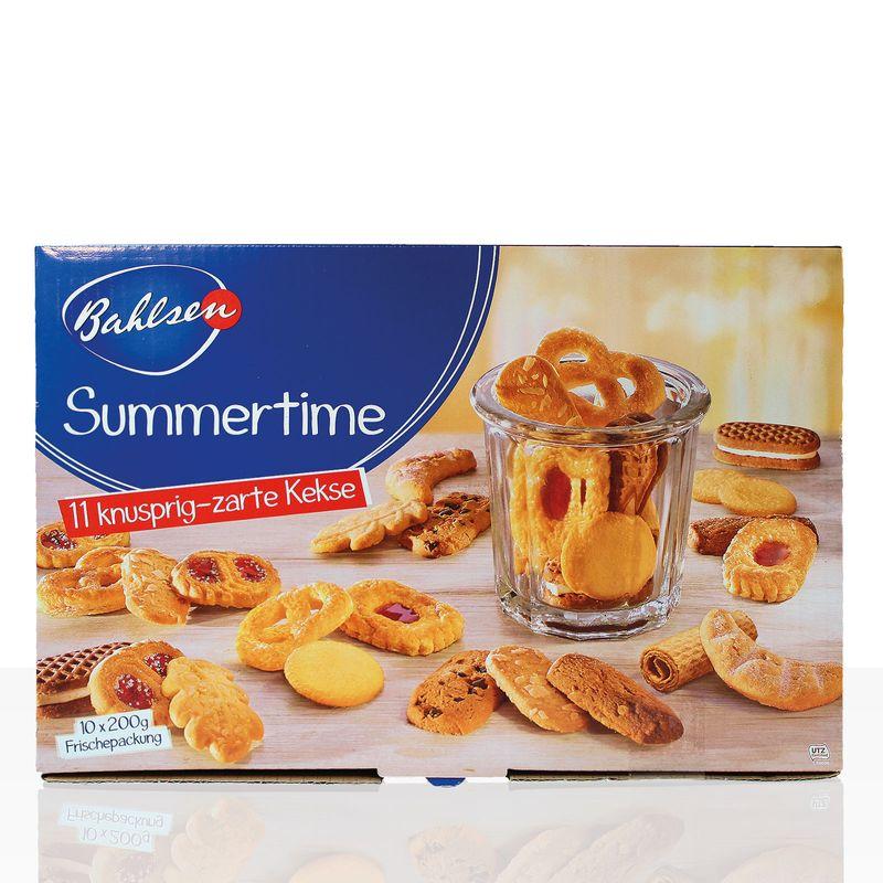 Bahlsen Kekse Summertime Gebäck mit 11 erlesenen Sorten, 2kg