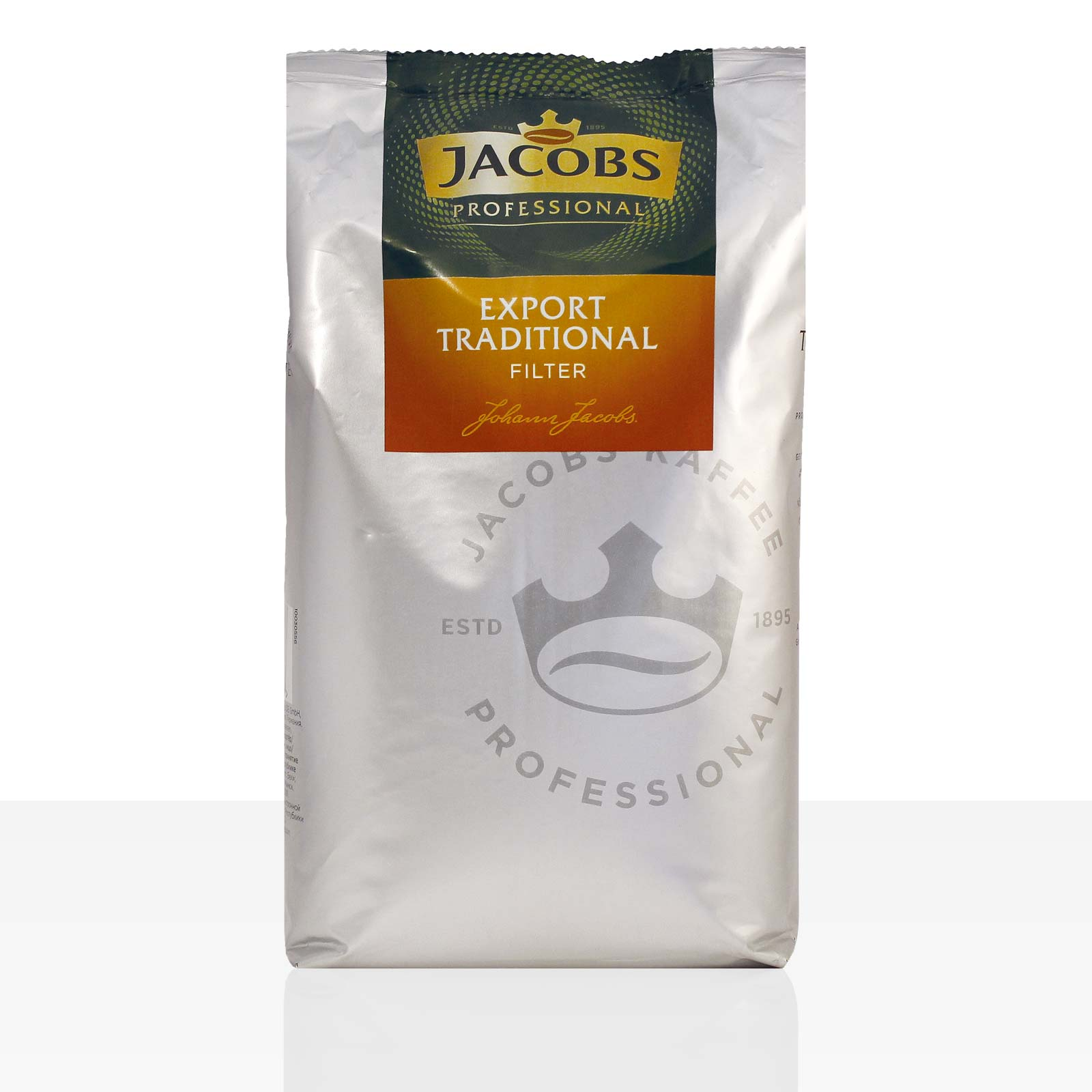 Jacobs Filterkaffee Export Traditional - 1kg Kaffee gemahlen