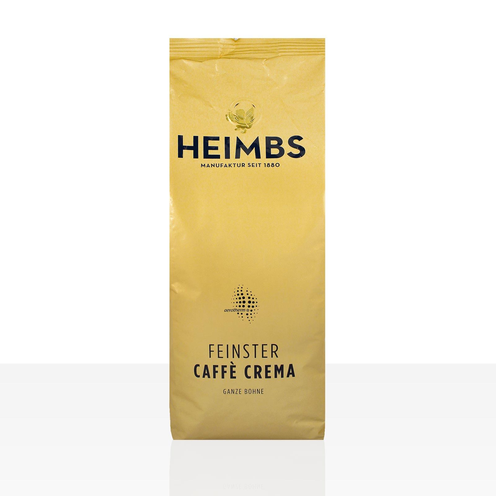 Heimbs feinster Caffe Crema - 12 x 500g Kaffee ganze Bohne