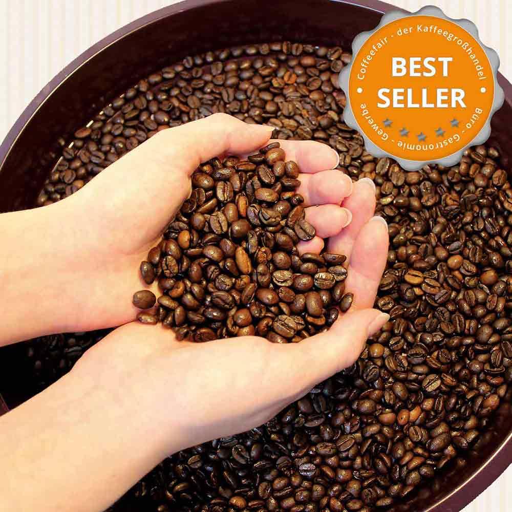 coffeefair cafe creme 1kg ganze kaffee bohnen barista. Black Bedroom Furniture Sets. Home Design Ideas