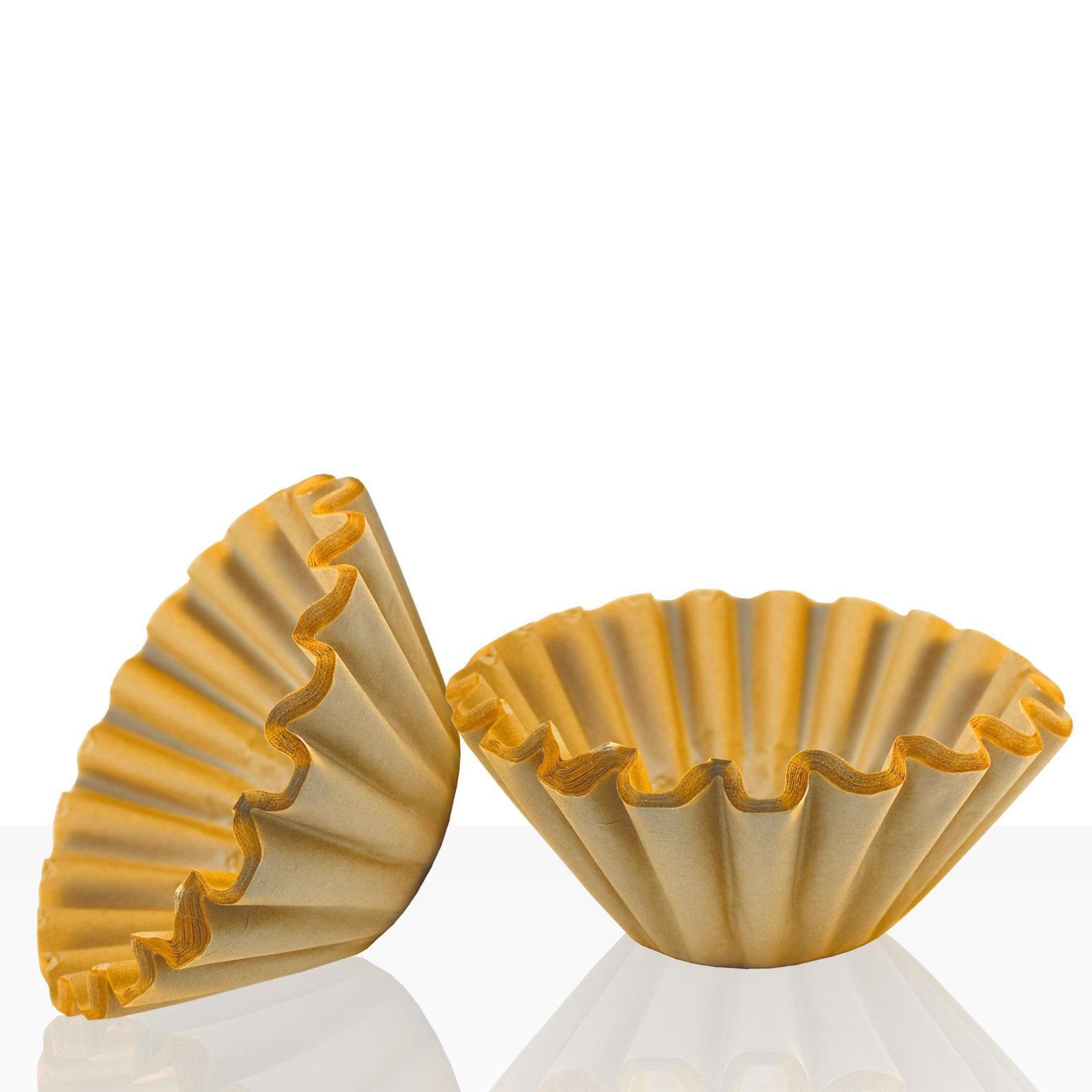 Korbfilter für Bonamat, Bartscher, Animo 85/245 mm, 1000 Stk braun, Kaffeefilter