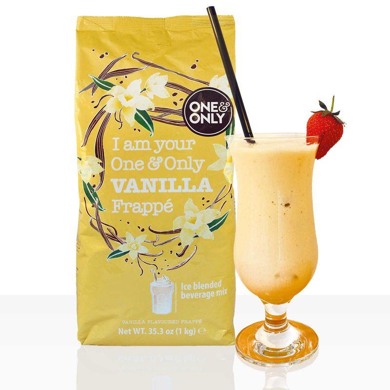One & Only Frappé Instantpulver Vanille 1kg