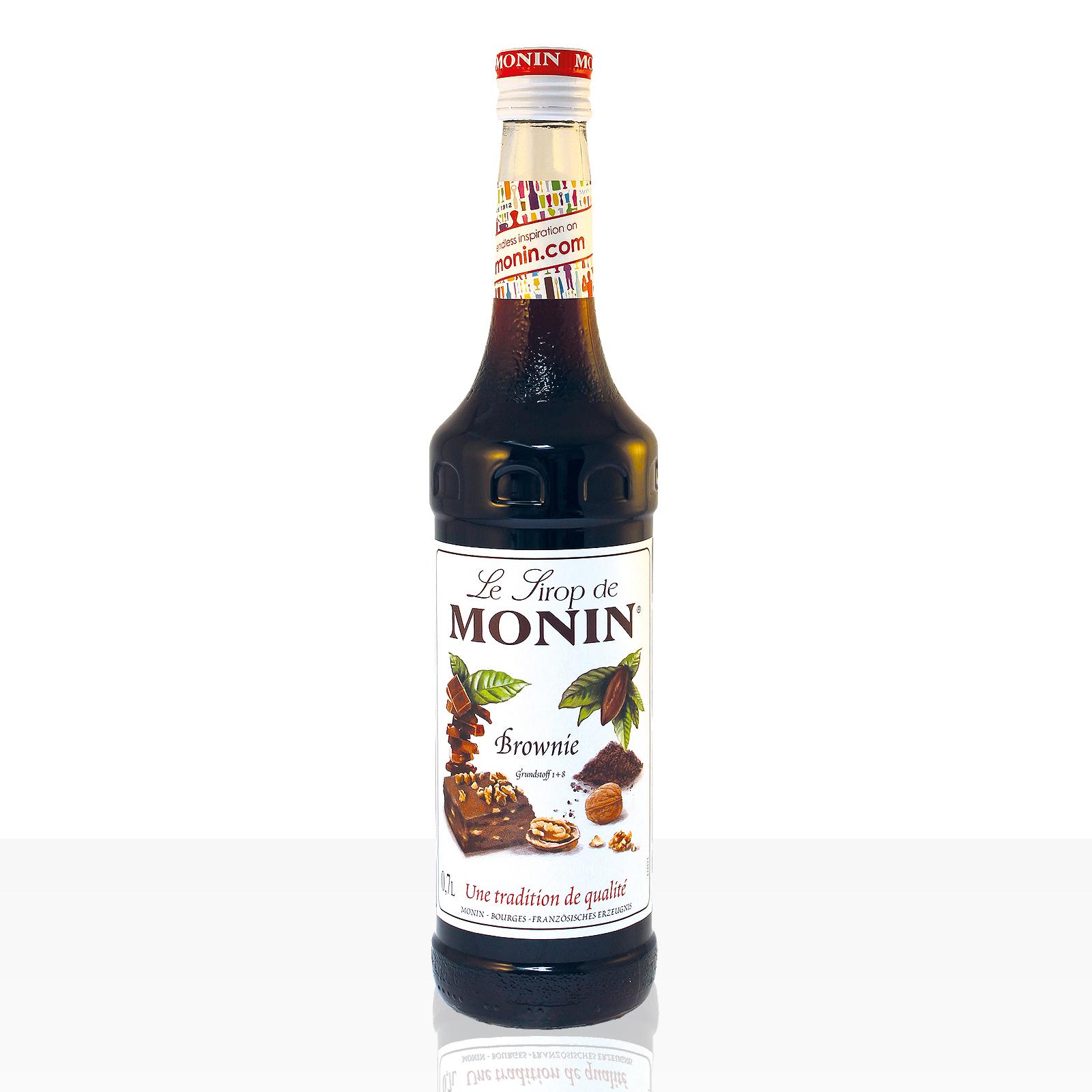 Monin Sirup Brownie 0,7 l - B-Ware
