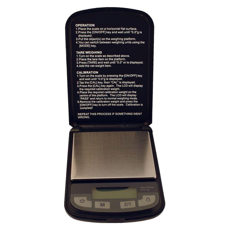 Champion Scale - Digitalwaage für Kaffeemehl Barista Zubehör max. 600 g – Bild 1