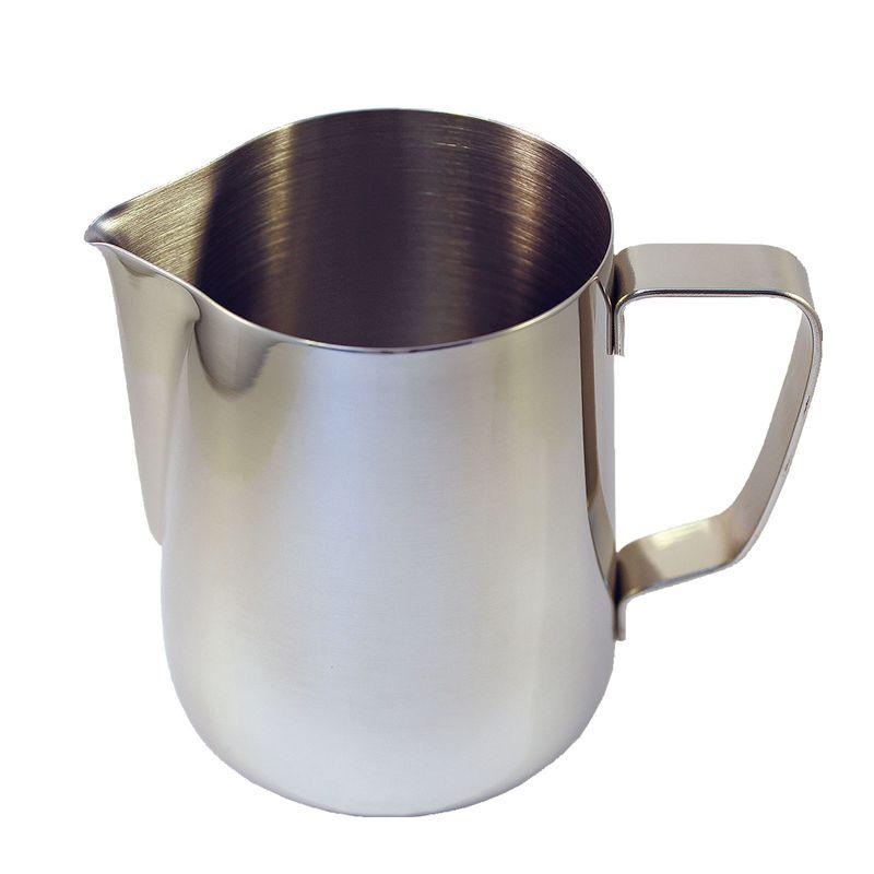 Barista Aufschäumbehälter, Milchkanne mit Auslauf Barista Zubehör 1l – Bild 1