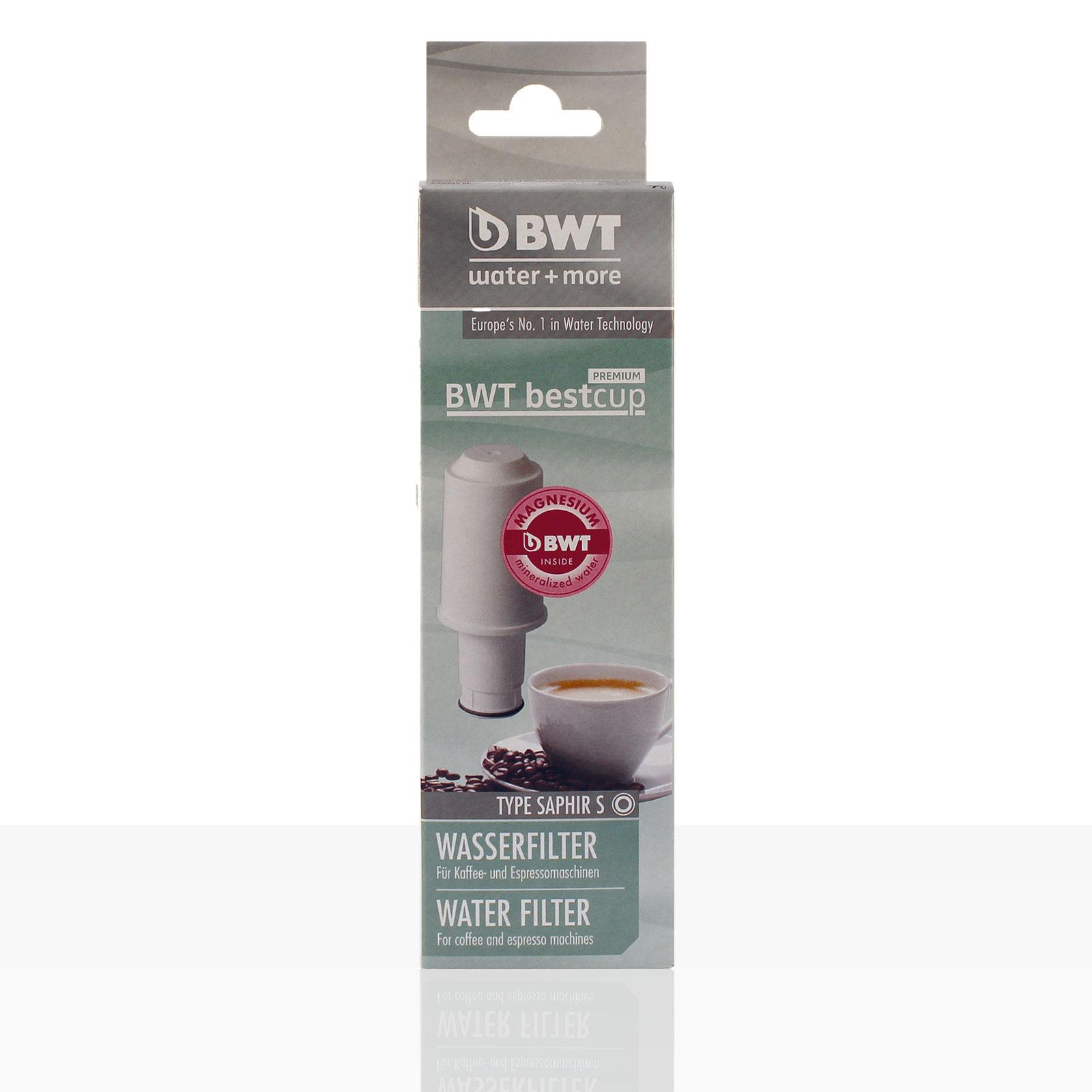 BWT bestcup Premium SAPHIR S Wasser-Filter für den Wassertank - B-Ware