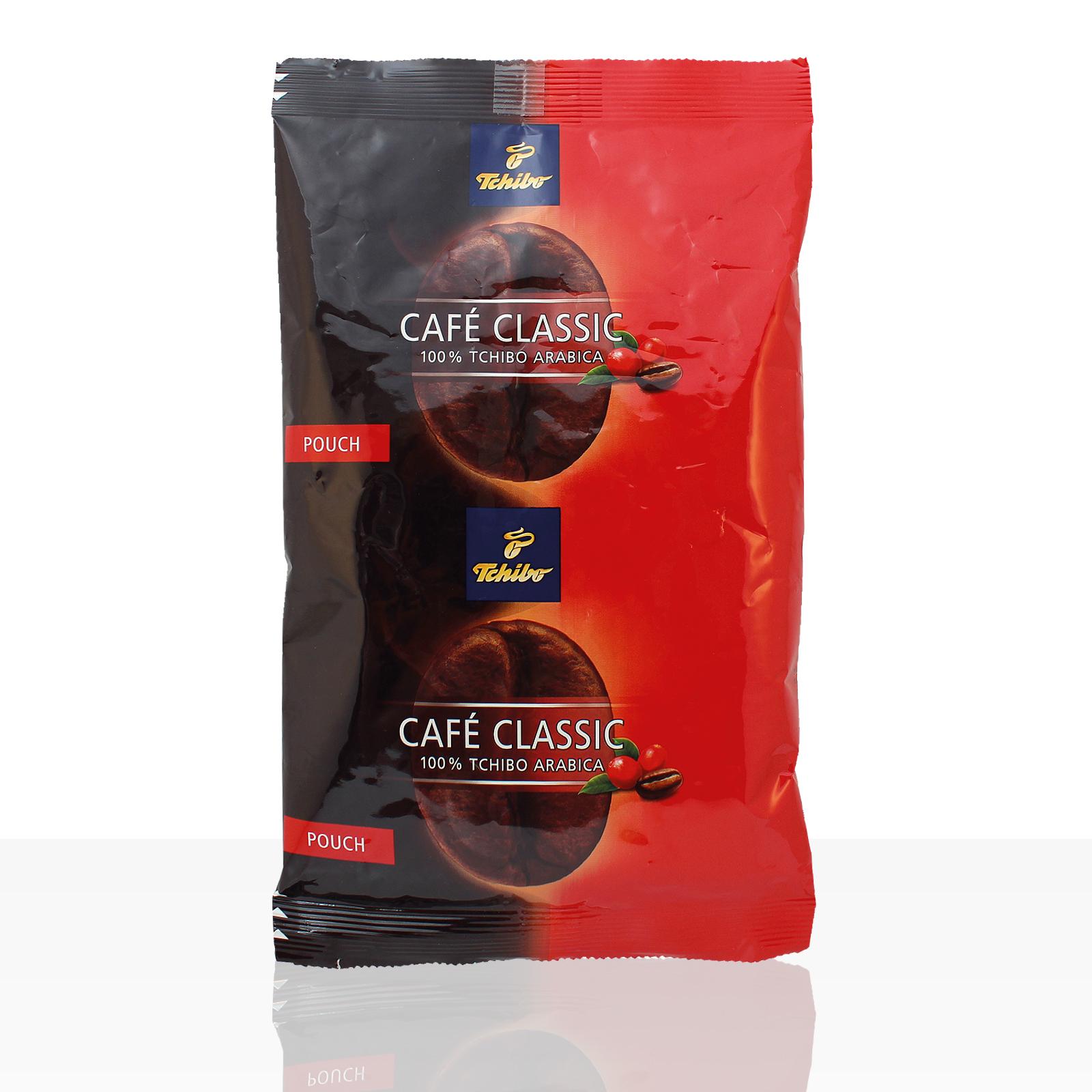Sale - Tchibo Cafe Classic elegant Pouch - 36 x 65g Kaffee im Filterbeutel - kurzes MHD