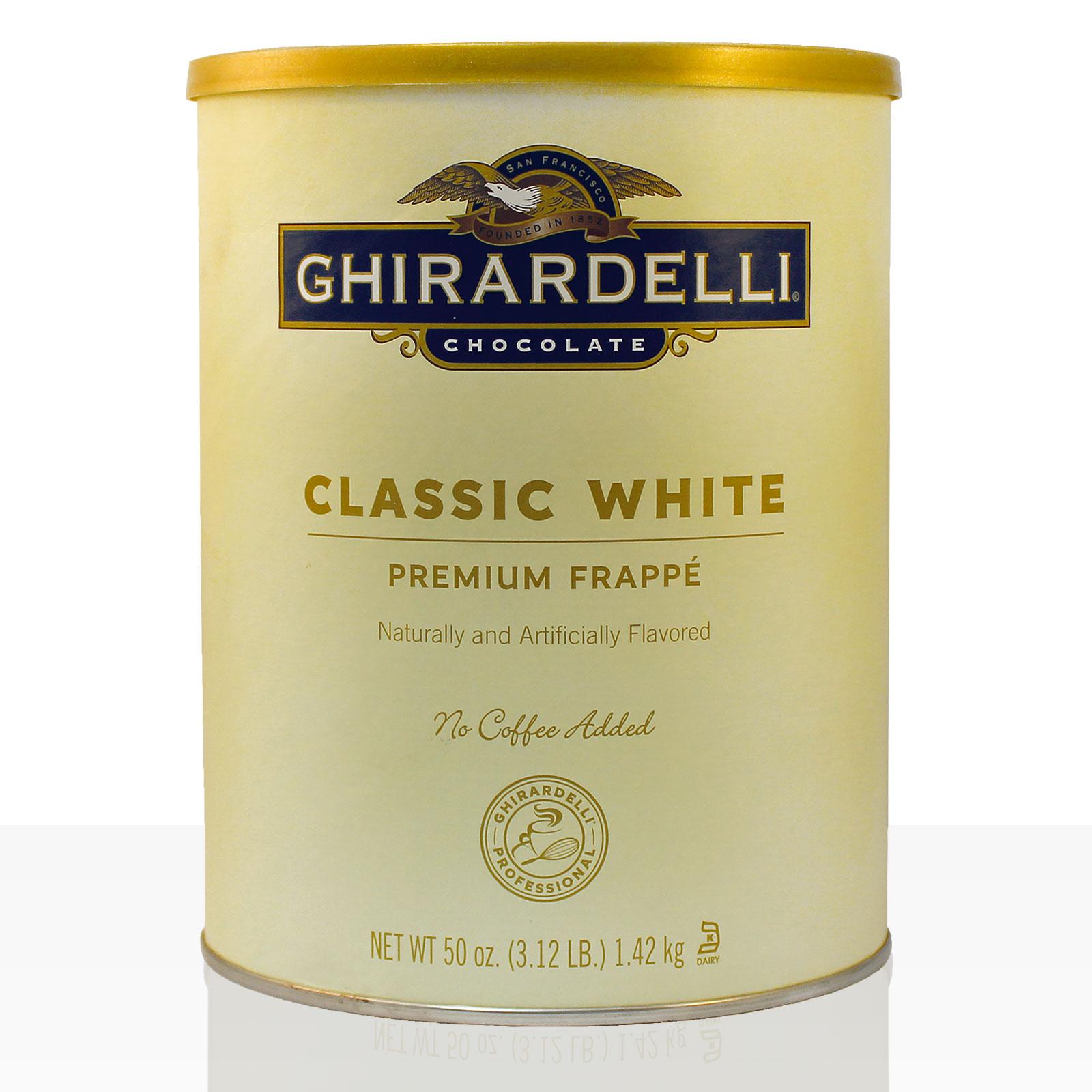 Ghirardelli Frappe Classic White Chocolate Flavoured 1,42kg - B-Ware