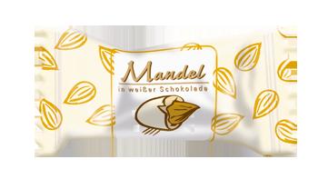 Hellma Mandel in weißer Schokolade ca. 360 Portionen – Bild 1