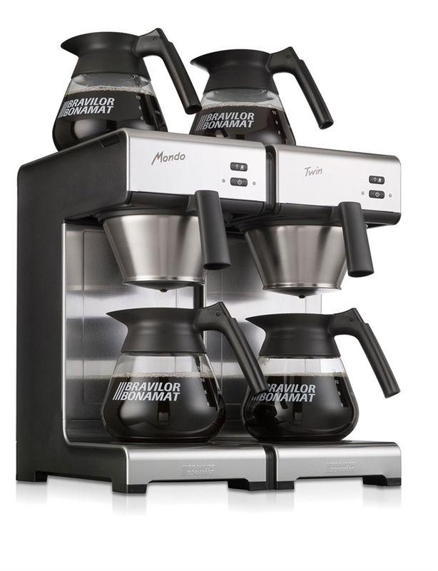Bonamat Mondo Twin Kaffeemaschine inkl. 4 Glaskannen 1,7l – Bild 4
