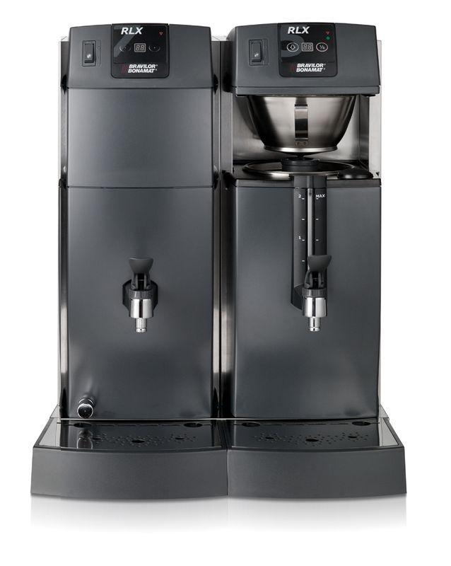 Bonamat Büffet Kaffeemaschine RLX 75 mit 1 Brühsystem, Behälter mit Schauglas und Heißwasser 400V – Bild 1