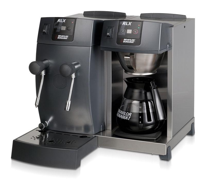 Bonamat Kaffeemaschine RLX 41 mit Glaskanne, 1 Kaffeebrühsystem, 1 Warmhalteplatte, Heißwasser und Heißwasserdampf 230V – Bild 2