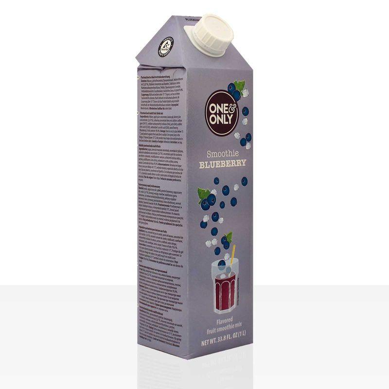 One & Only Smoothie Blueberry Blaubeere 1l – Bild 3