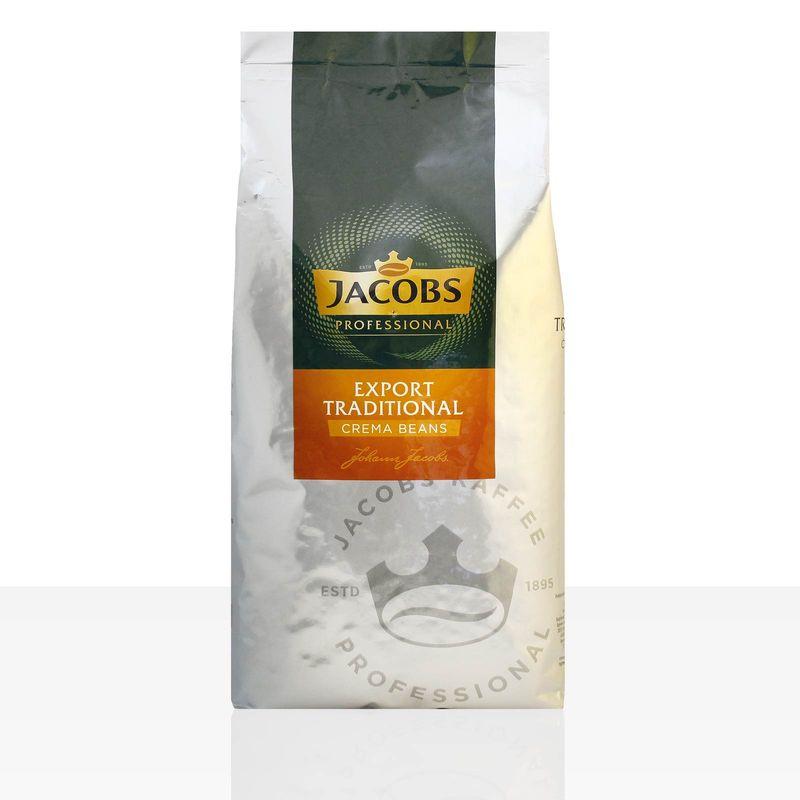 Jacobs Export Traditional Cafe Creme - 1kg Kaffee ganze Bohne