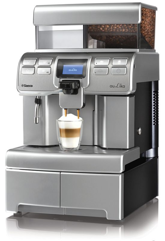 Saeco Aulika TOP One Touch Cappuccino FW anthrazit Kaffeevollautomat