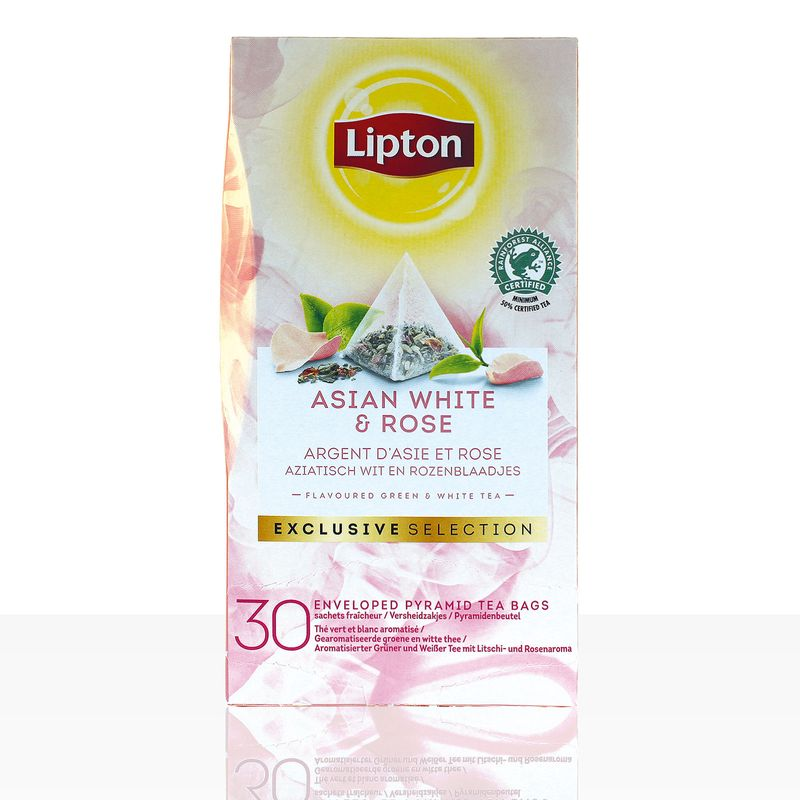 Lipton Tee Exclusive Selection Asian White & Rose 30 x 1,6g
