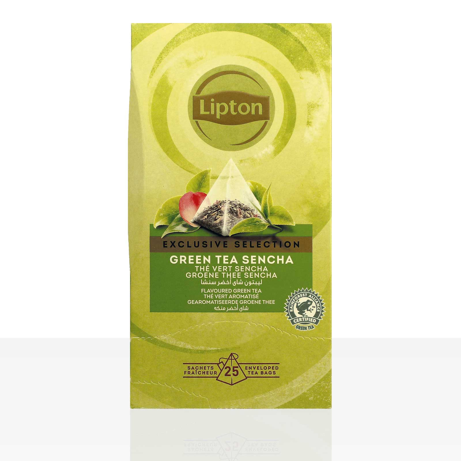 Lipton Tee Exclusive Selection Green Tea Sencha Grüntee 25 x 1,8g