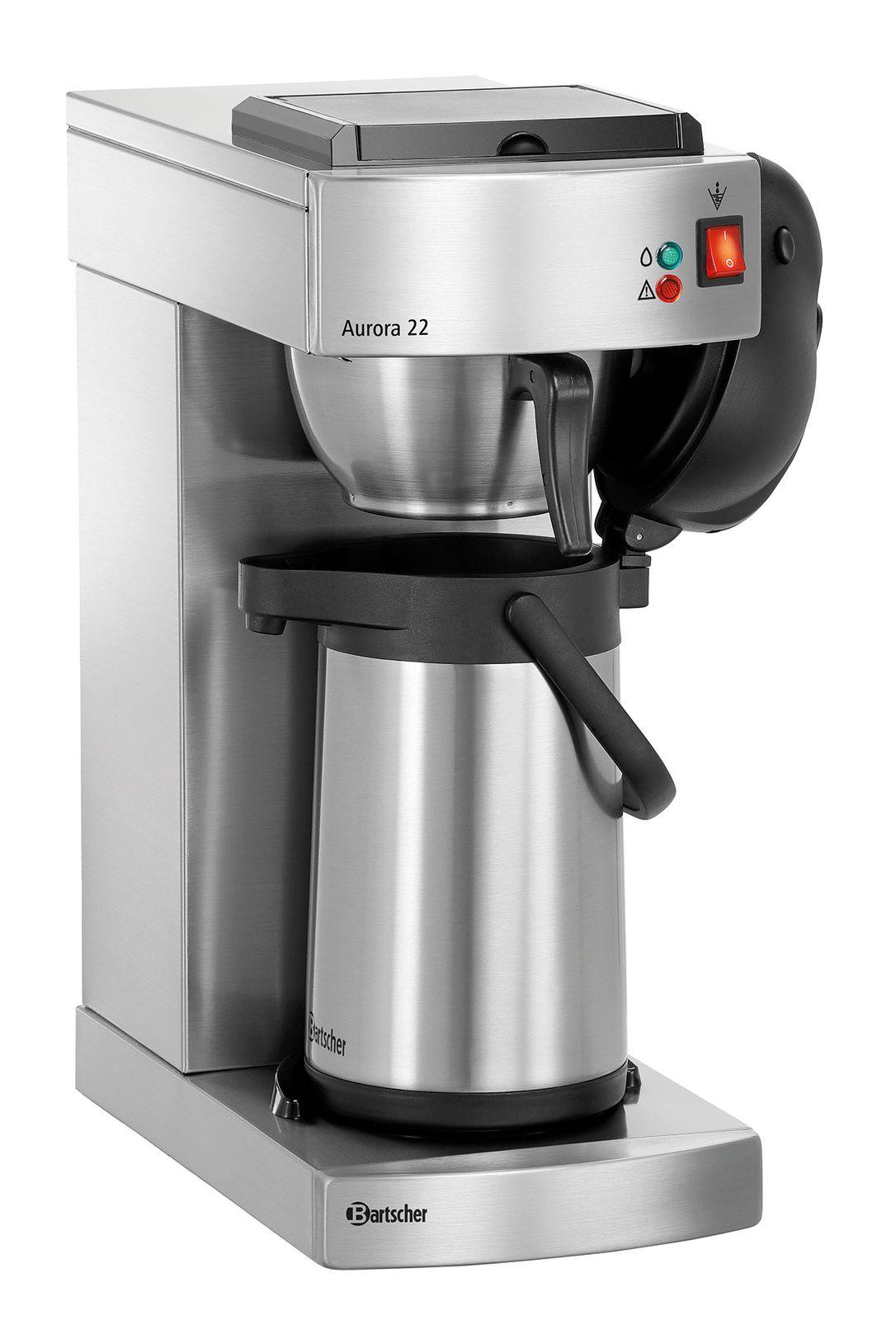 Bartscher Aurora 22 Kaffeemaschine inkl. Kanne 2l