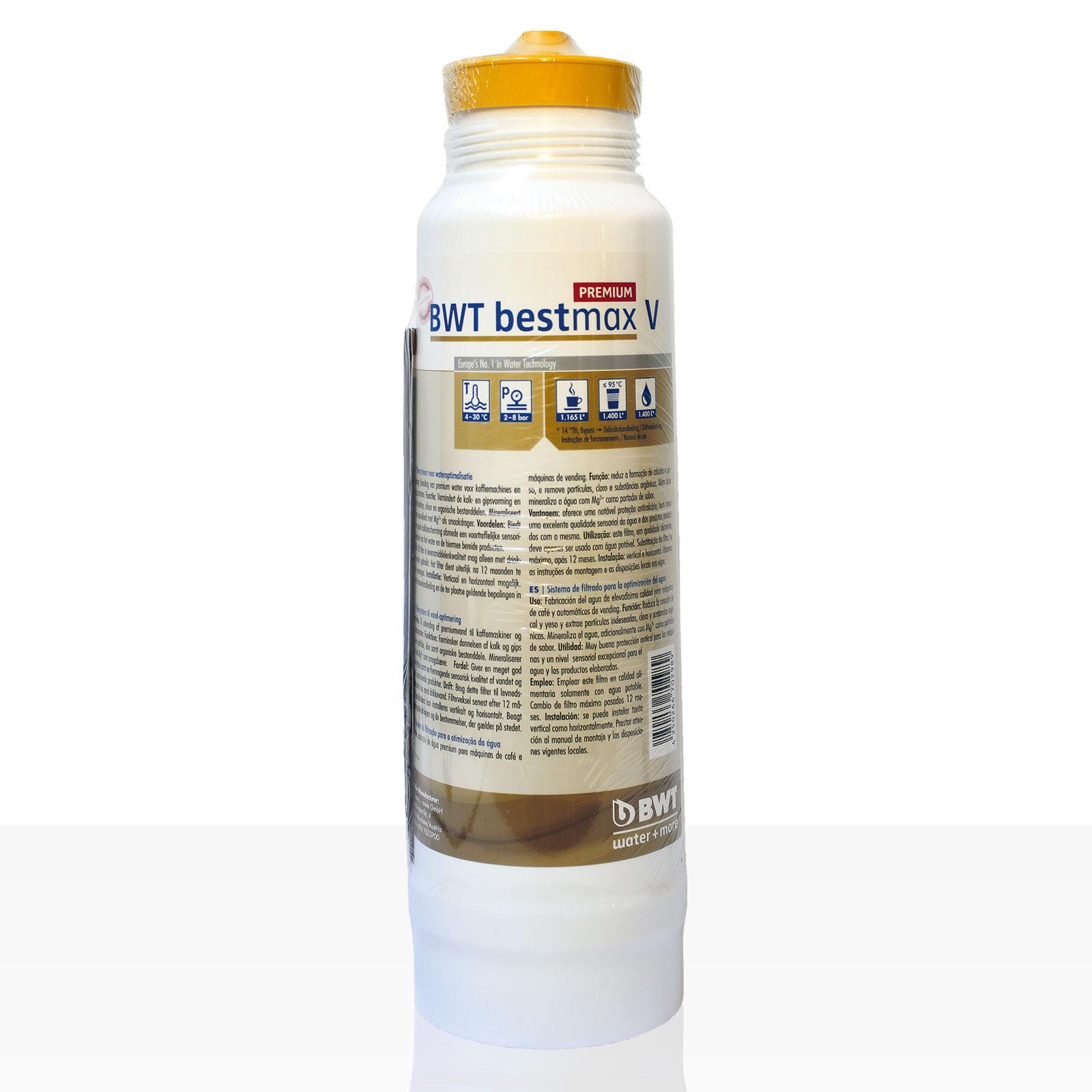 Bestmax V Premium Filterkerze BWT water + more Wasserfilter, ca. 1800 L