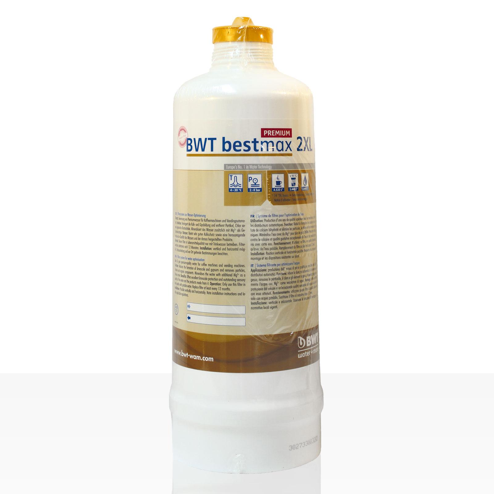 Bestmax 2XL Premium Filterkerze, BWT water + more Wasserfilter, ca. 7000 L