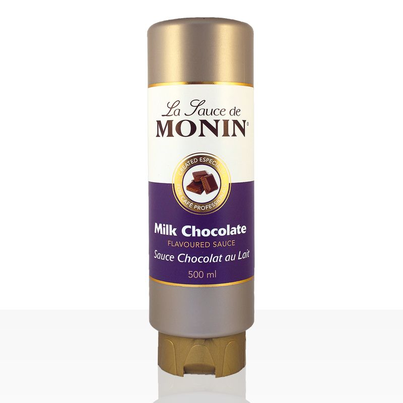Monin Sauce Milchschokolade 0,5 l, Schoko-Soße