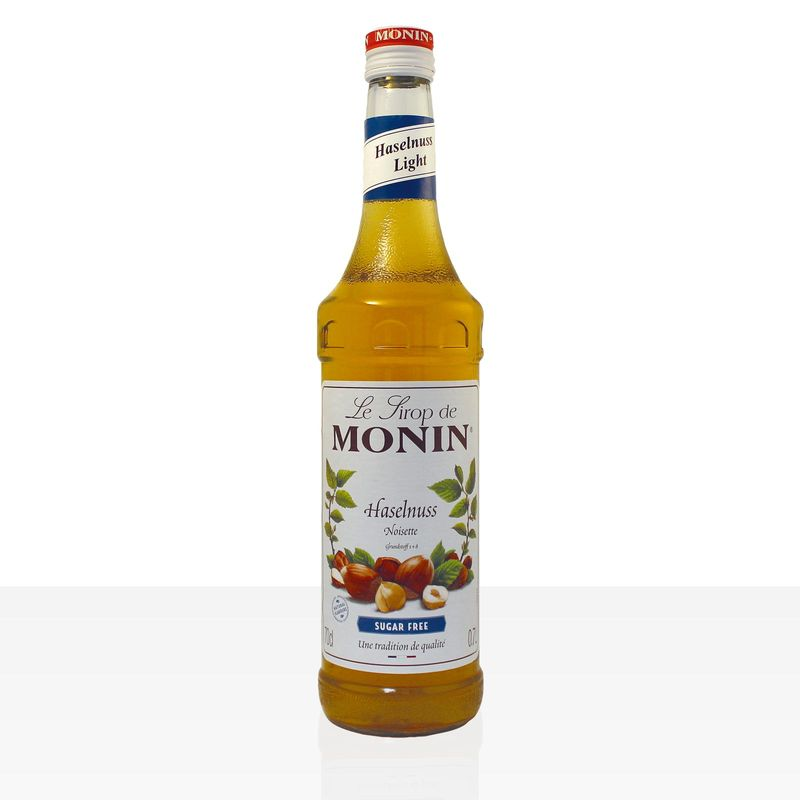 Monin Sirup Haselnuss light, zuckerfrei 0,7 l