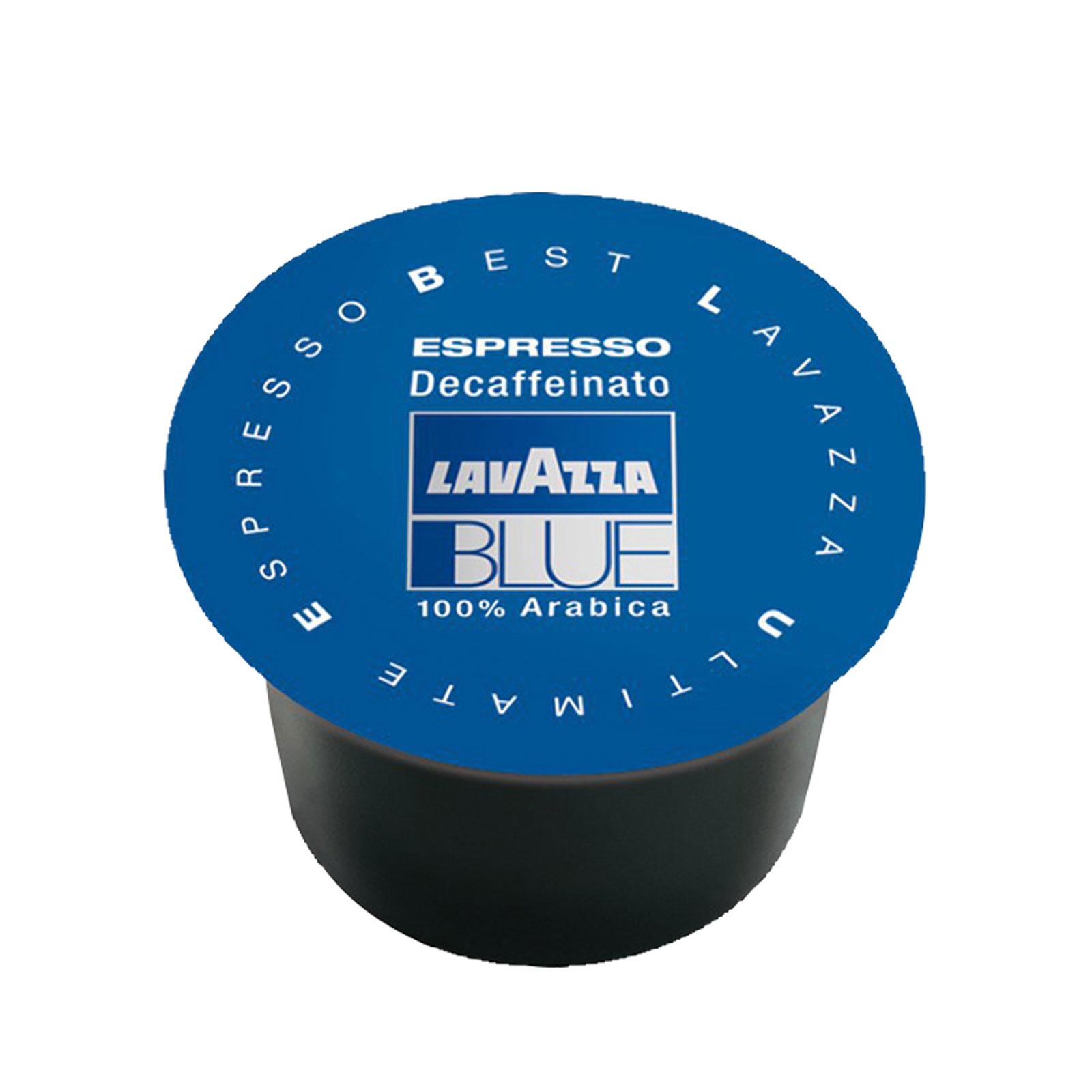 Lavazza Blue Espresso Decaffeinato entkoffeiniert Kapsel Nr. 800 - 100Stk Kaffee-Kapseln für Kapselmaschine