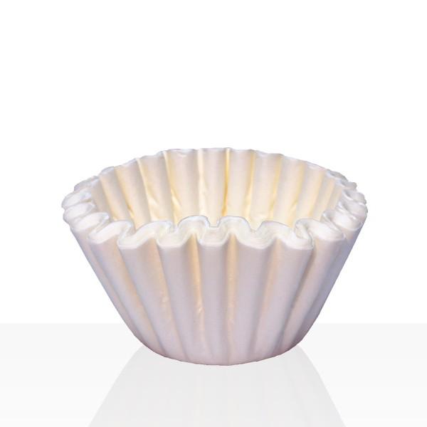 Coffeefair Korbfilter für Bonamat, Bartscher, Animo, Melitta 85/245 mm, 1000 Stk weiß, Kaffeefilter