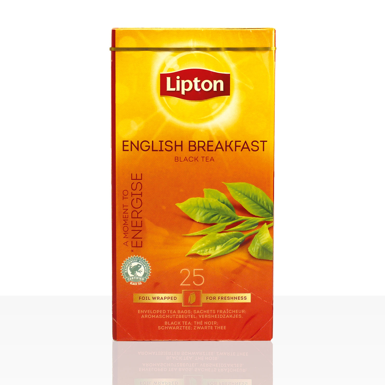 Lipton Tee Classic English Breakfast 25 x 2g