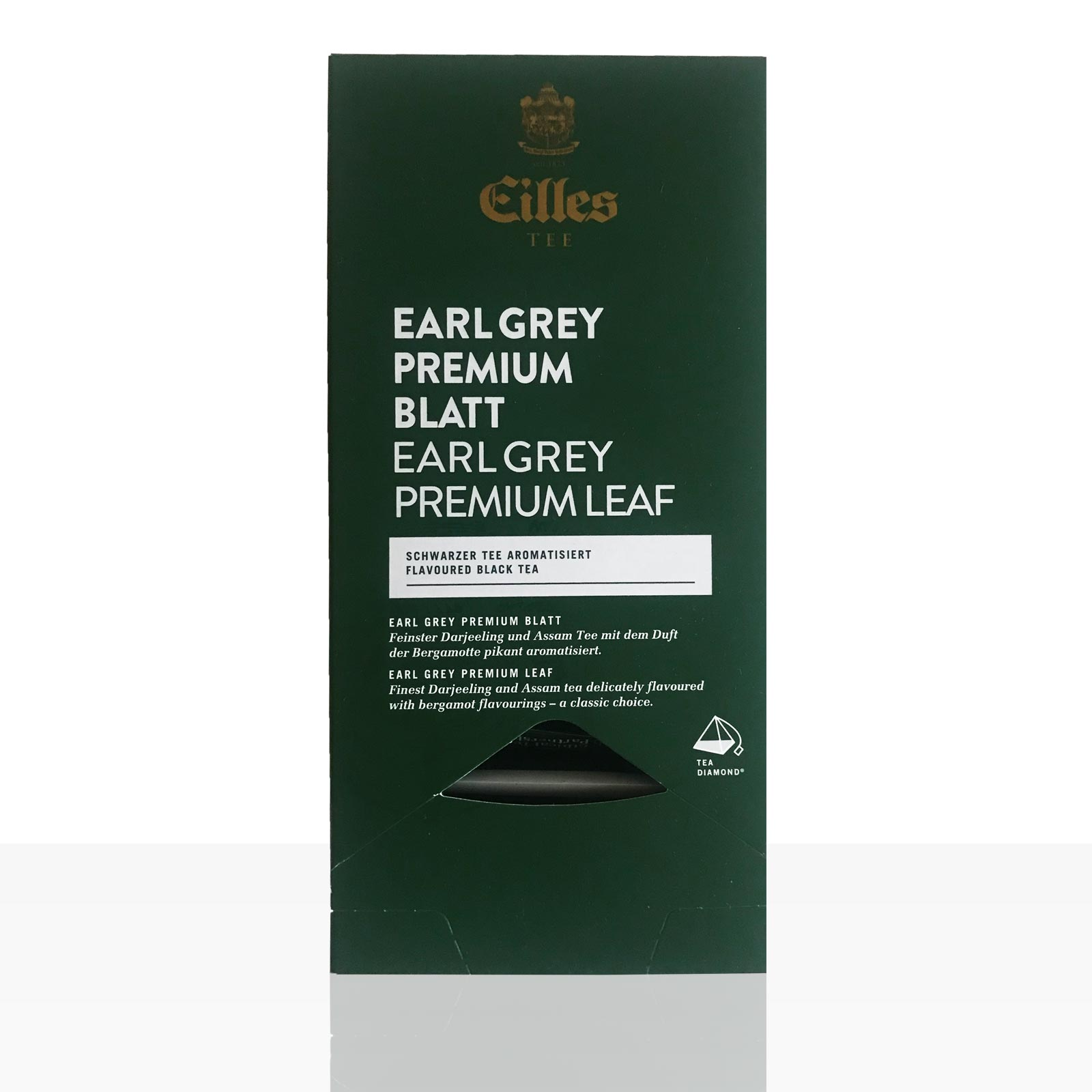 EILLES World Luxury Selection Earl Grey Premium Blatt 20 x 2,5g, einzeln kuvertierter Darjeeling Tee