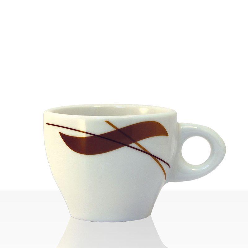 Coffeefair Kaffee-Geschirr - Espresso-Tasse im edlen Design, 80ml