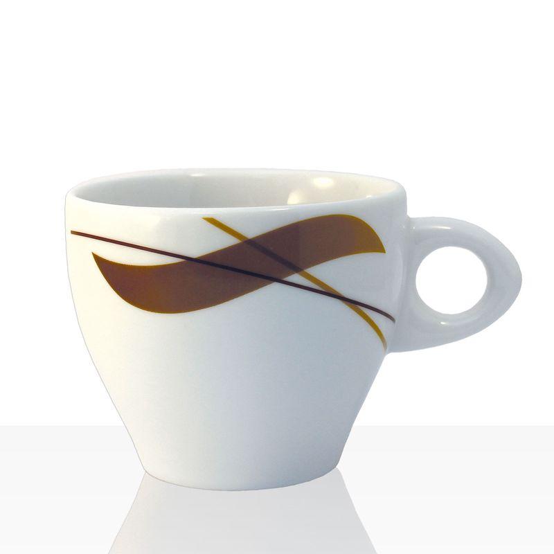 Coffeefair Kaffee-Geschirr - Cappuccino-Tasse im edlen Design, 250ml