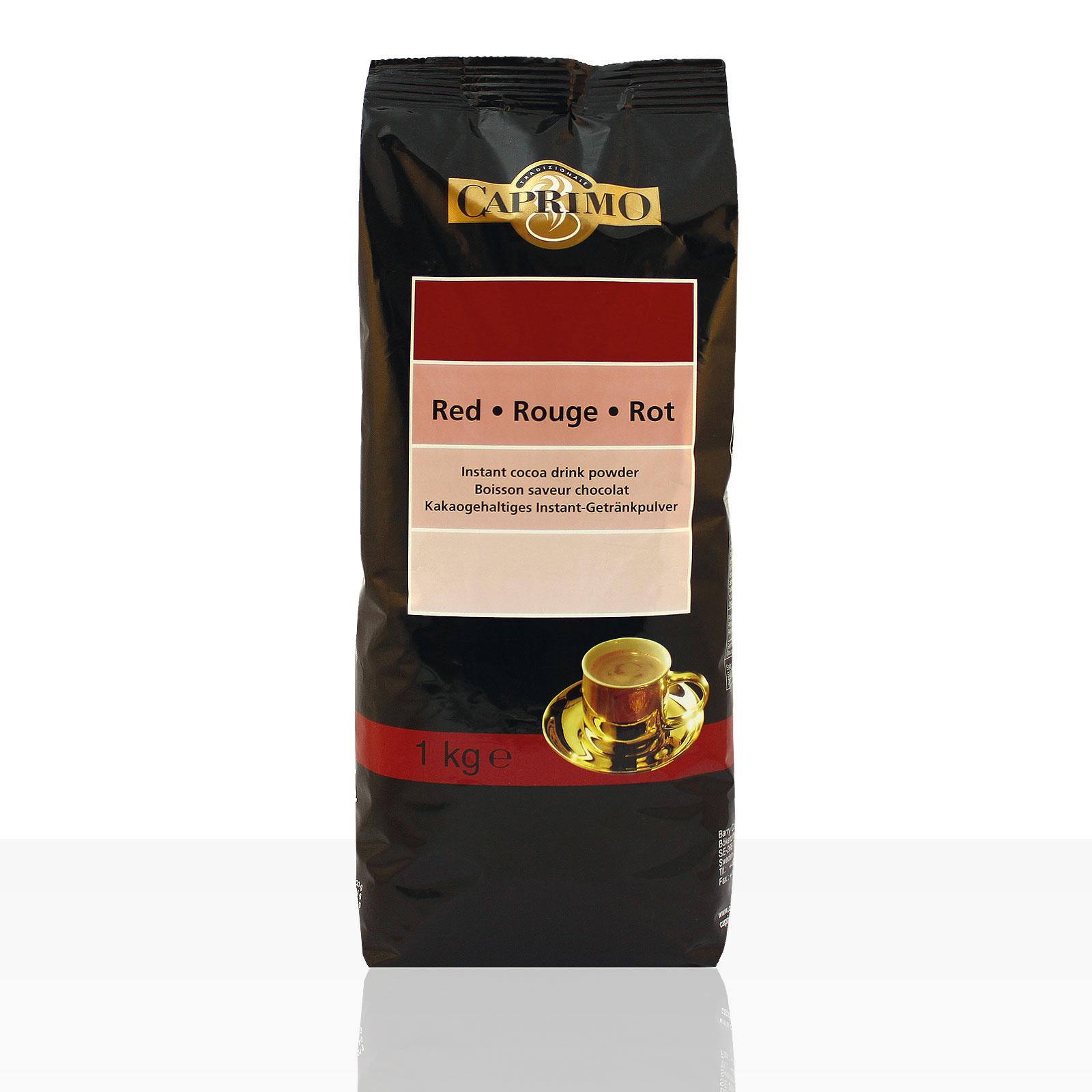 Caprimo Instant Choco Red 1kg Kakao, 16% Kakaopulver