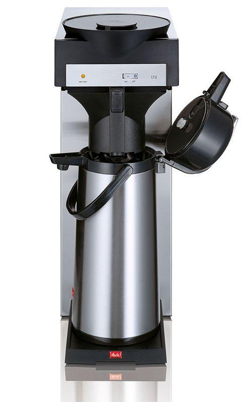 Melitta M 170 MT Gastro Filter-Kaffeemaschine inkl. Pumpkanne Edelstahlkolben 2,2l