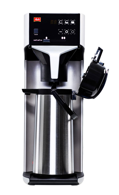 Melitta Cafina XT180 TWC Filter-Kaffeemaschine Festwasser inkl. Kanne 2,2 mit Glaskolben