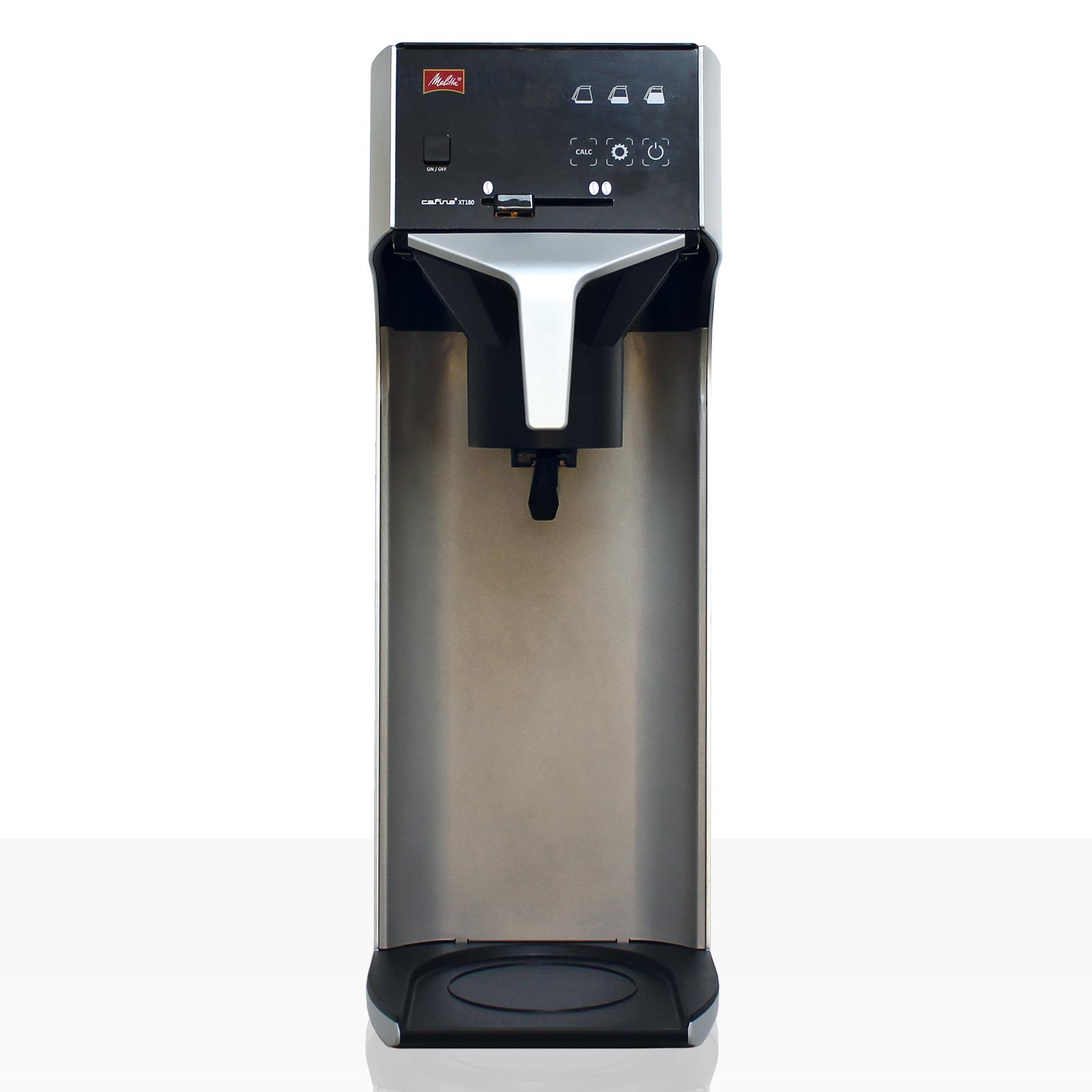Melitta Cafina XT180 TMC Filter-Kaffeemaschine mit Wassertank (inkl. Kanne 2,2l mit Glaskolben)