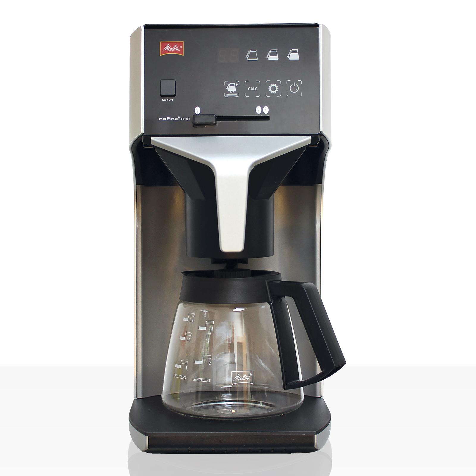 Melitta Cafina XT180 GWC Filter-Kaffeemaschine inkl. Glaskanne 1,8l