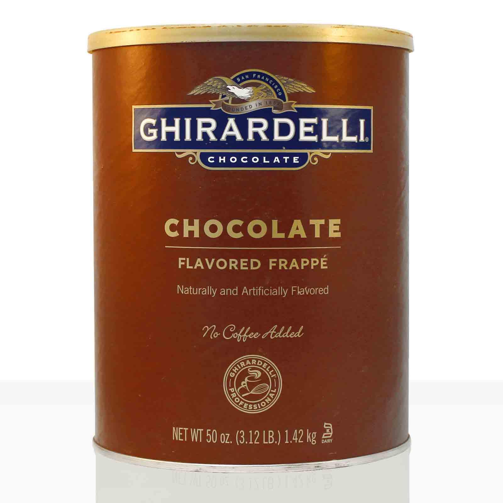 Ghirardelli Frappe Classic dark Chocolate Flavoured, dunkle Trinkschokolade 1,42kg