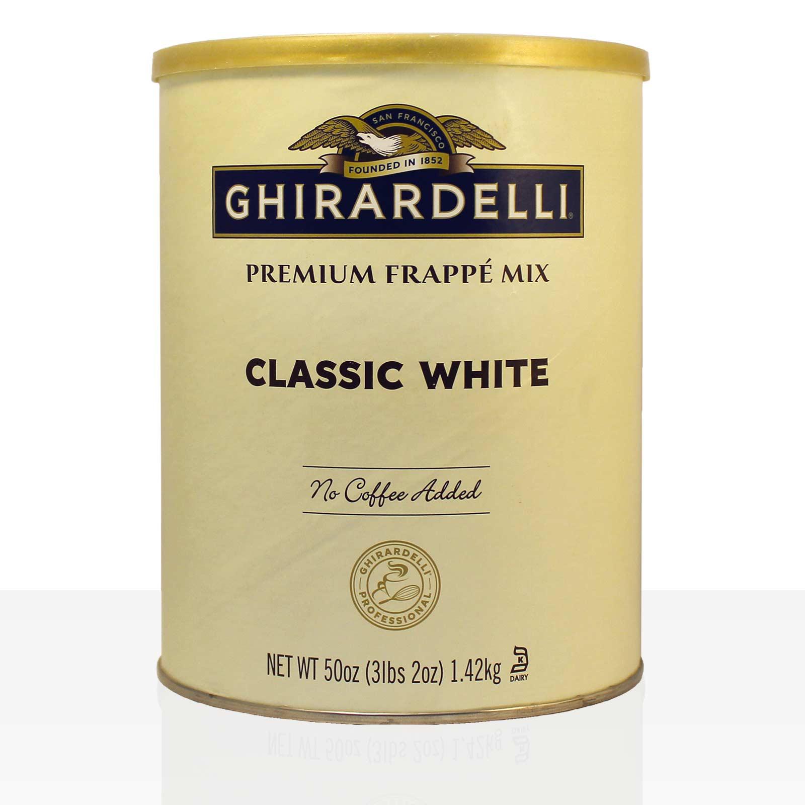 Ghirardelli Frappe Classic White Chocolate Flavoured, weiße Trinkschokolade 1,42kg